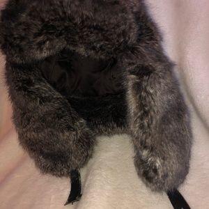 Cejon Soft Touch Vegan Faux Fur Bomber Hat